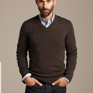 Banana Republic silk cotton cashmere sweater